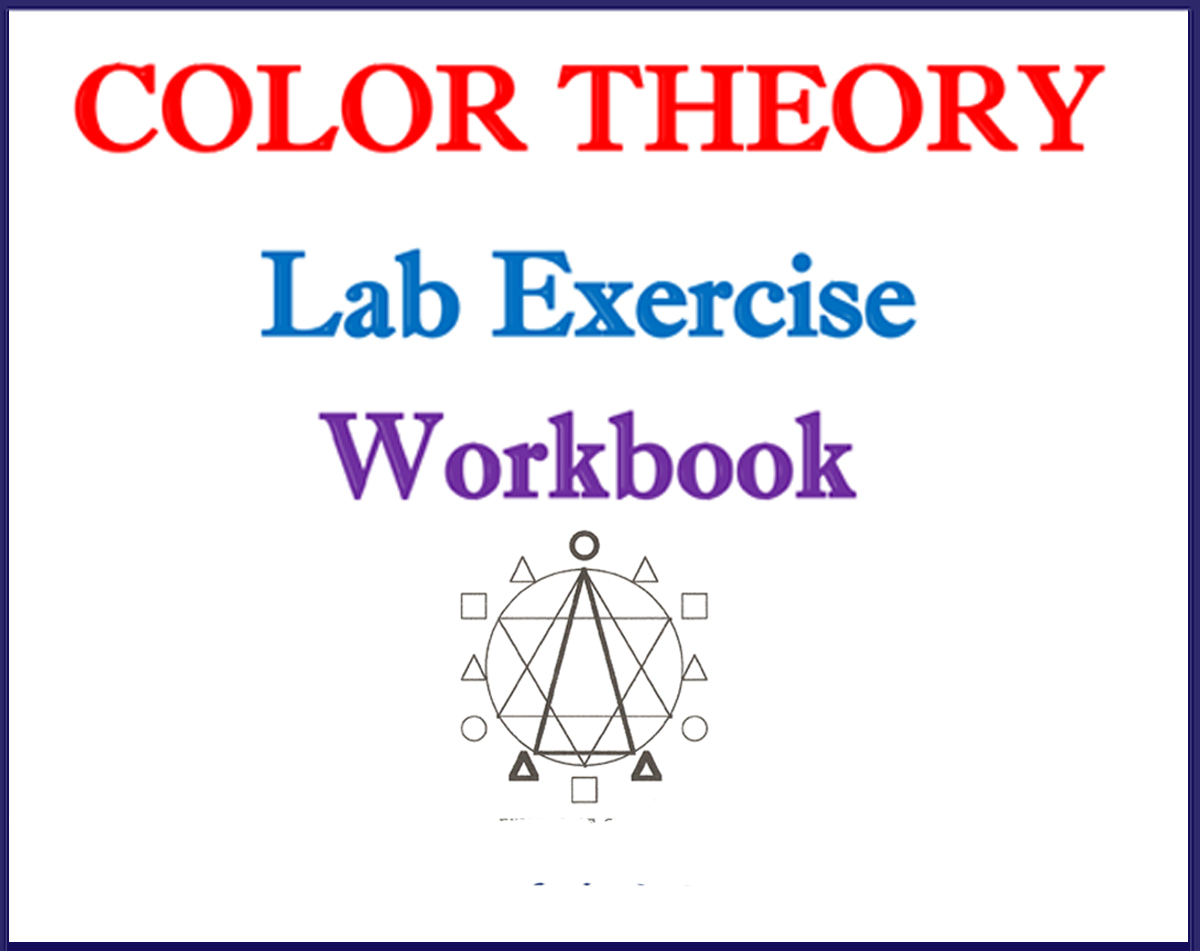 Color Theory Workbook with 43 exercises