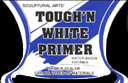 Tough N White - All purpose primer, superior adhesion, bright white, will not dull colors
