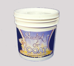 Sculpt or Coat - foamcoat, adhesive, sealer, texturing agent for puppets, props,