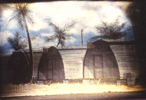 South Pacific - Company Street Backdrop